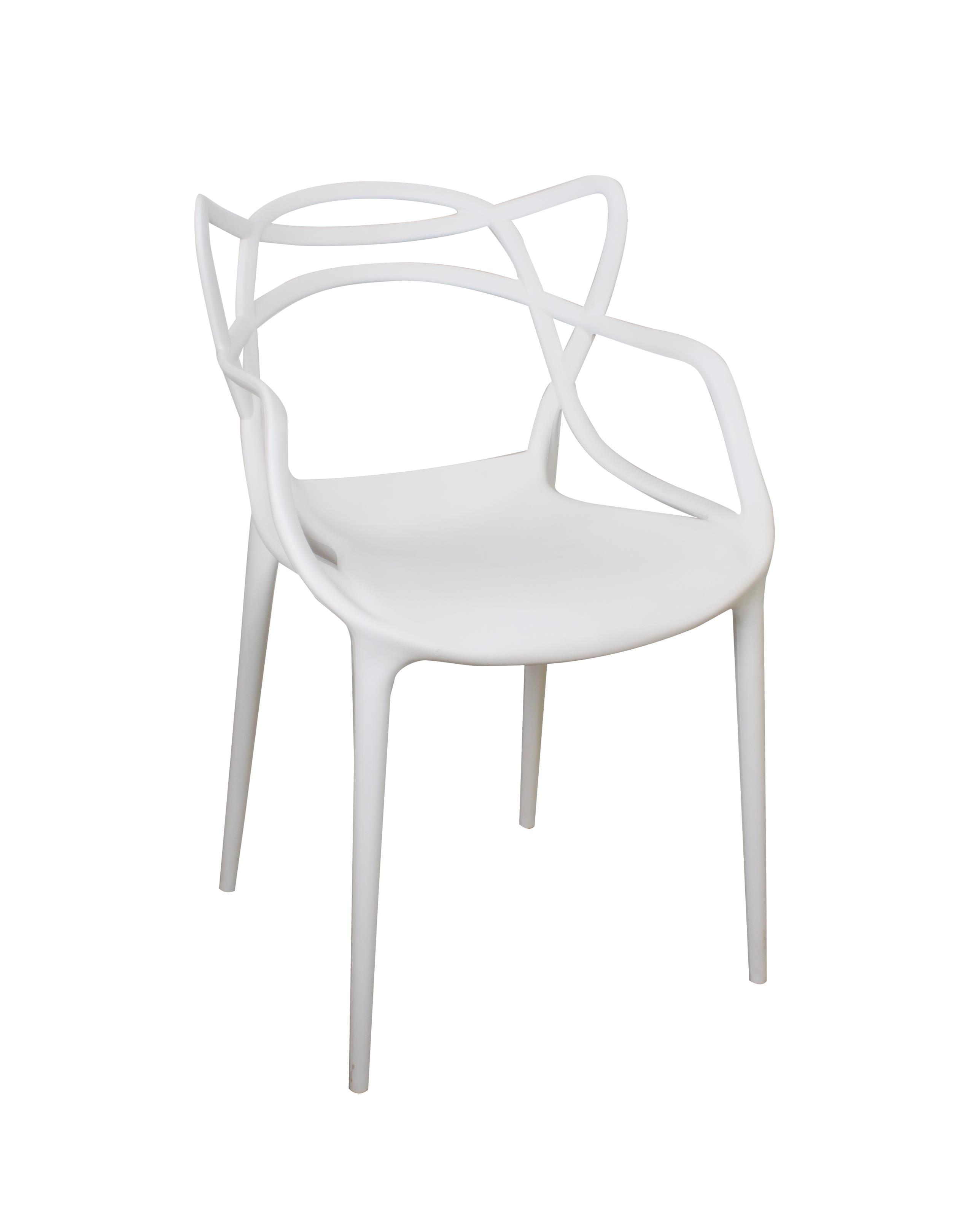 KIKA PP DINNING CHAIR WHITE