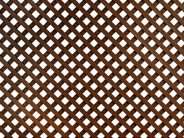 FXD PP TRELLIS 0.8X1.2M BROWN