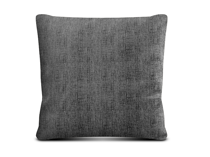CUSHION SUEDE 45X45 ANTHR W ZI