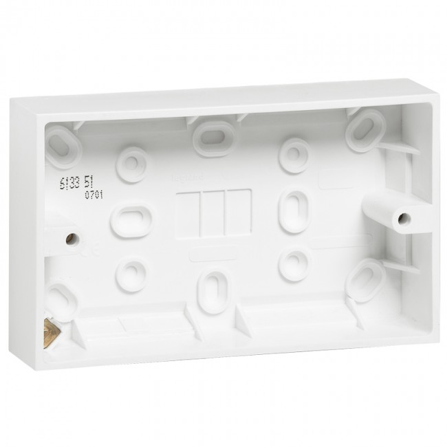 LEGRAND SURFACE MOUNTING BOX BOX 2 GANG