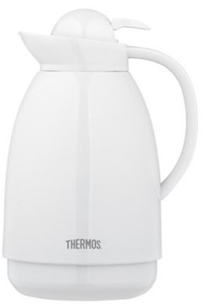 THERMOS CARAFE 1L WHITE