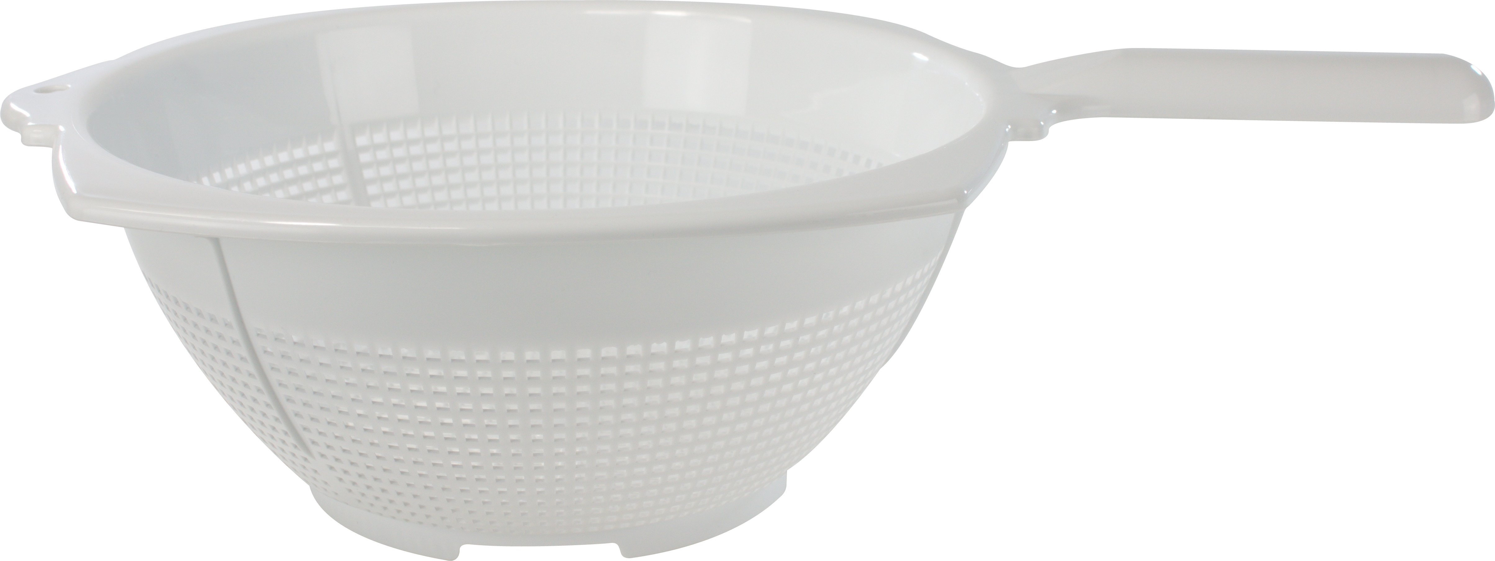 PLASTIC COLLANDER WITH HANDLE 22CM