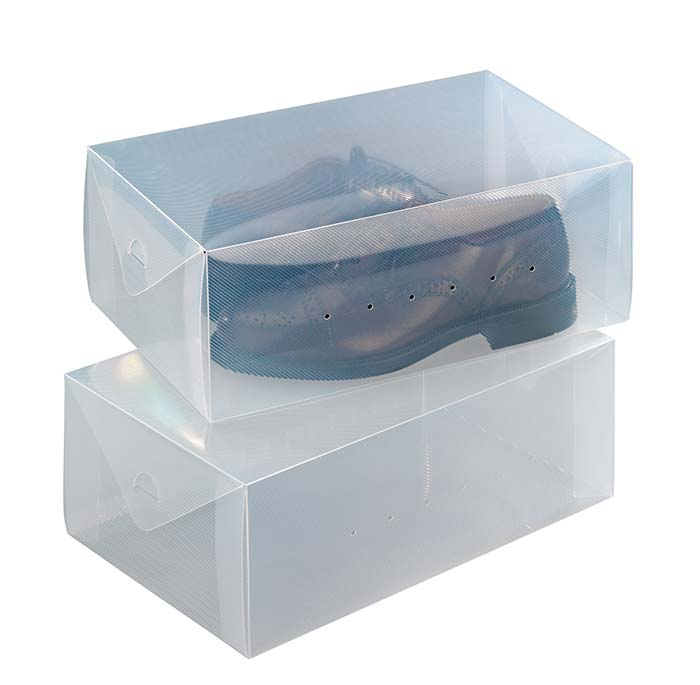 WENKO BOX FOR SHOES 2PCS FOLDABLE