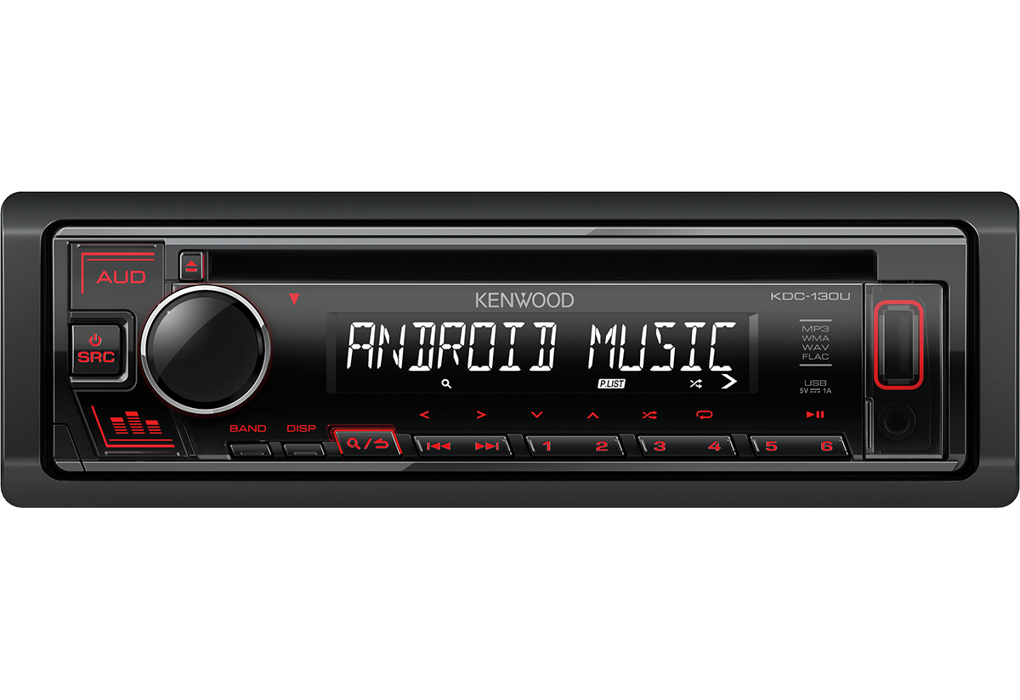 KENWOOD CD/USB RECEIVER