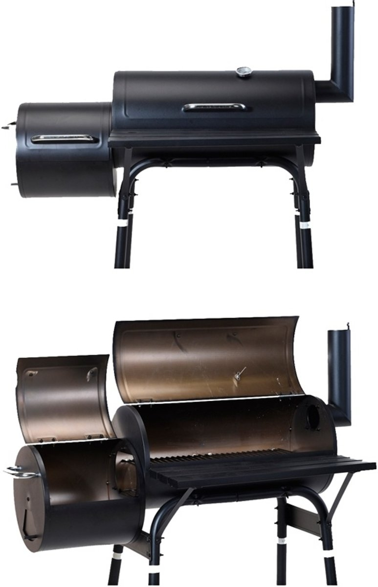 BBQ GRILL AND SMOKER