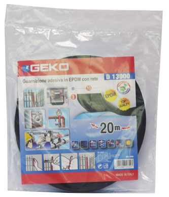 GEKO-D 13000 STRIP BLK 10MMX20