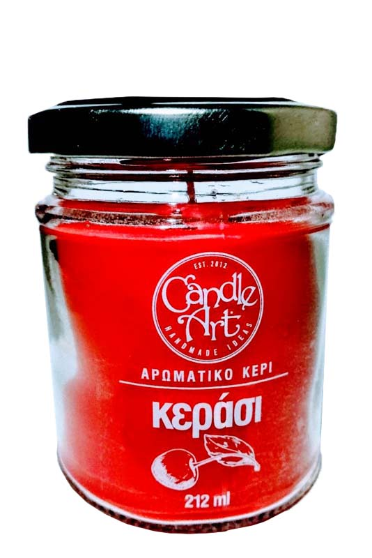 CYCLOPS CANDLE NATUR.AROM 212ML CHERRY