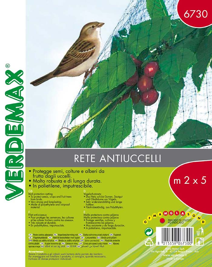 VERDEMAX BIRD PROTECTION NET 2X10