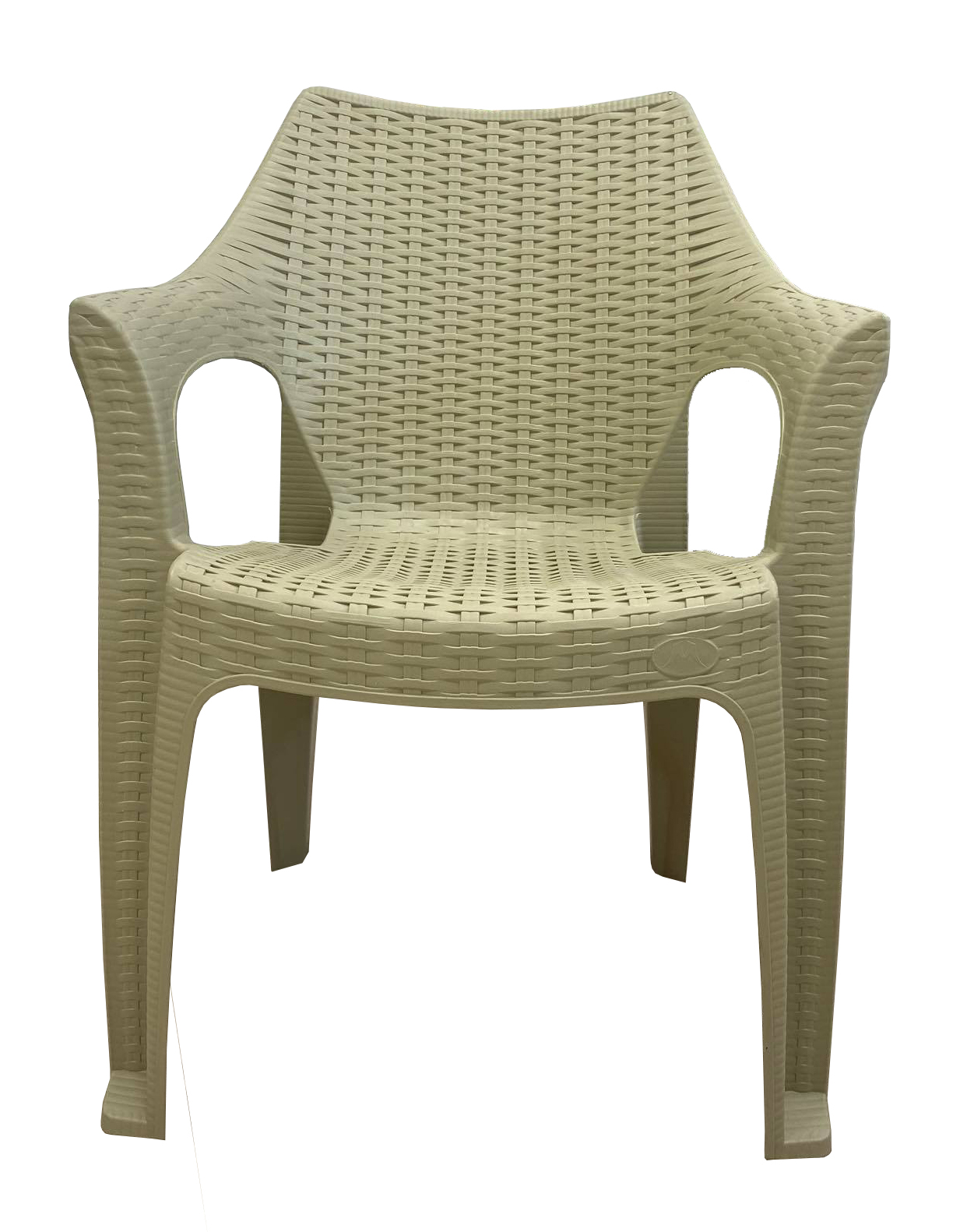 PLASTIC CHAIR BEIGE
