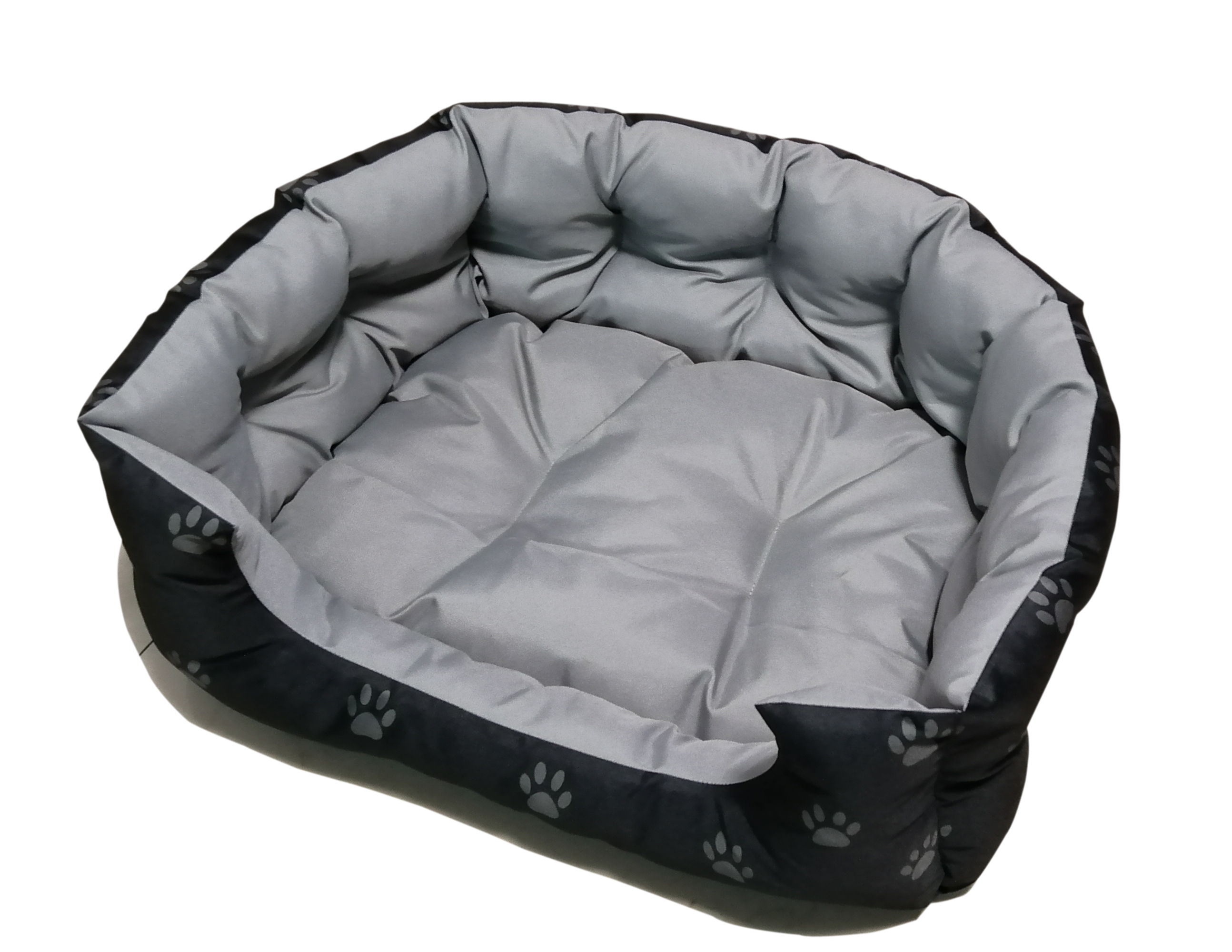 DOG BED BLK 55X45X20CM